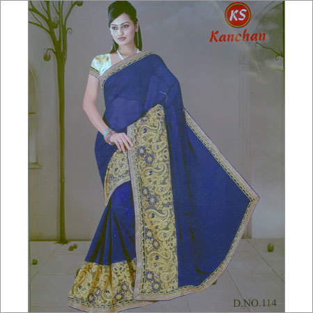 Designer Printed Saree