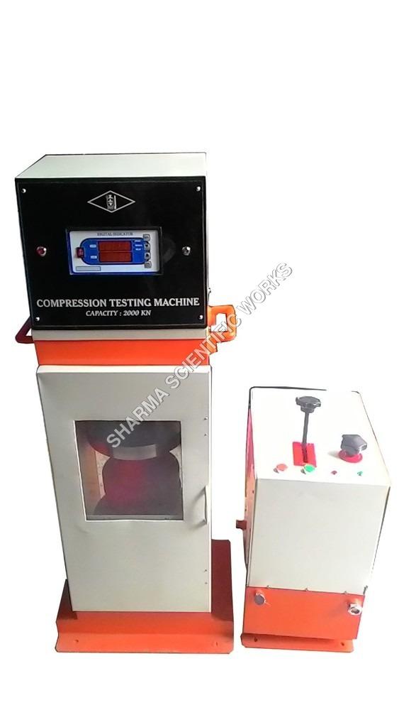 Compression Testing Machine Plate