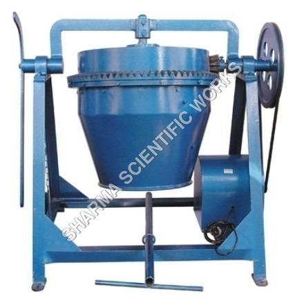 Laboratory Concrete Mixer Motorized