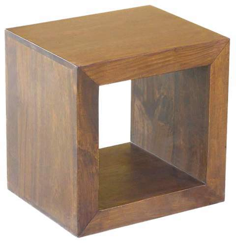 WOODEN ONE HOLE CUBE