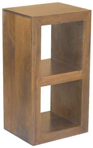 WOODEN 2 HOLE CUBE RACK