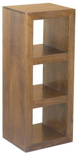 WOODEN 3 HOLE CUBE RACK