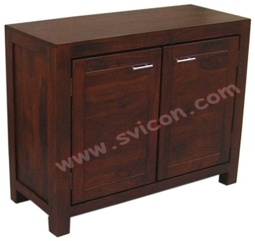 WOODEN SIDE BOARD 2 DOOR
