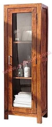 WOODEN GLASS DOOR CABINET