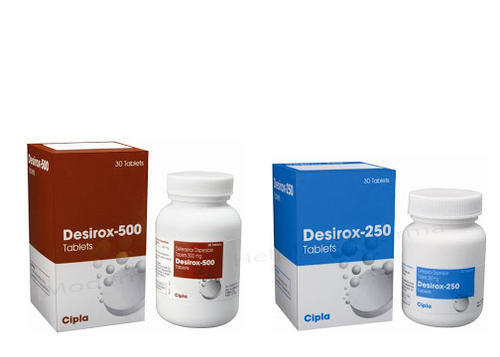 Deferasirox Dispersible Tablets