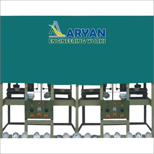 Four Die Paper Plate Crank Machine