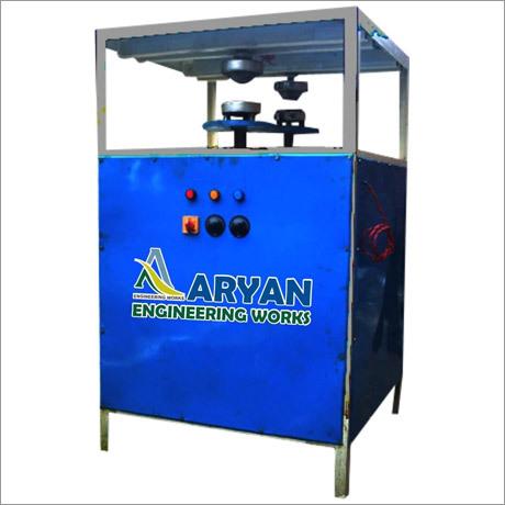Tiffin Plate Semi Automatic Double Die Machine