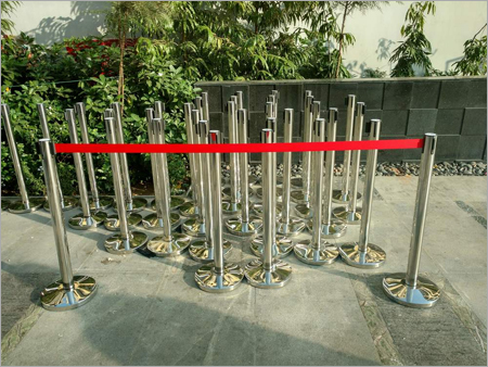 Stainless Steel Barrier Pole