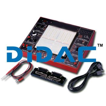 Electronic Trainer Equipment Breadboard