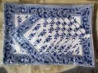 Blue Designer Place Mat DInning Set