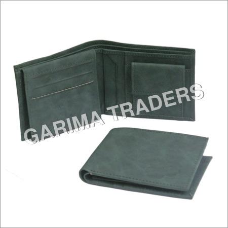 Green Rexine Wallet