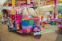 Grand Bride & Groom Entry on Auto Rickshaw