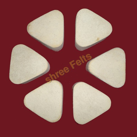 Felt Triangles Mozique Stone Polishing