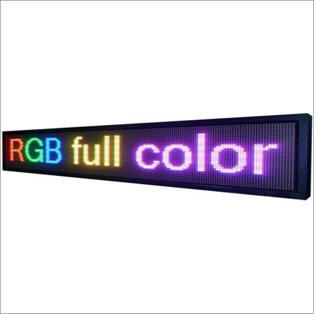 RGB multi colour display