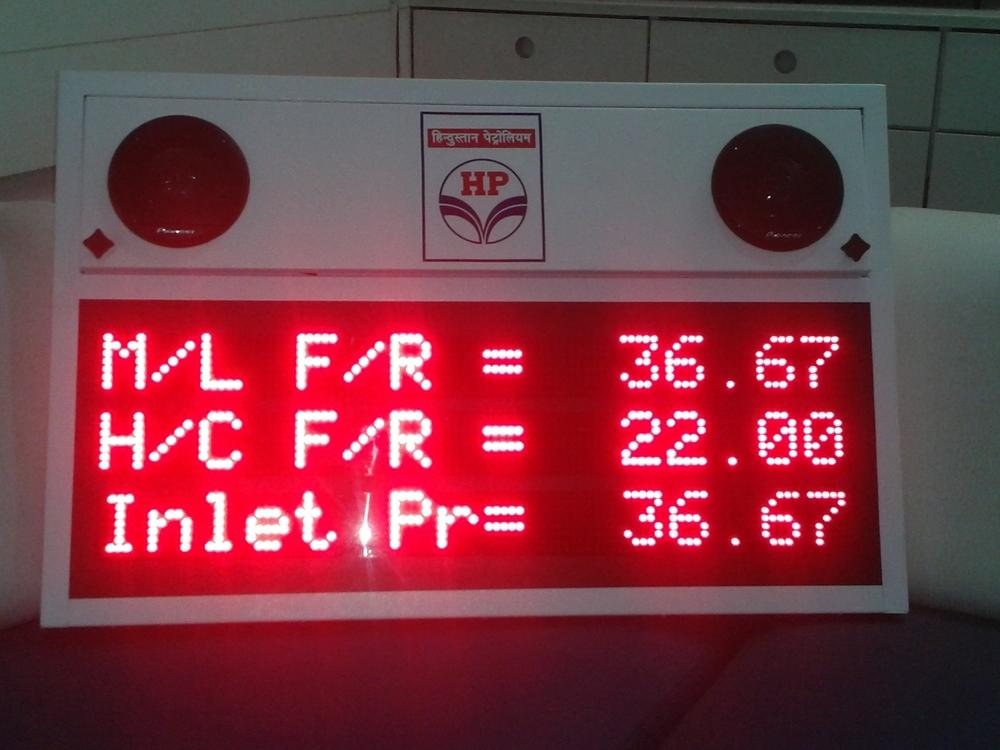 LED Petrol Price Display