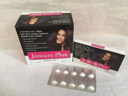 L-Tyrosin, Biotin, Selenium Dioxide, Zinc Sulphate Monohydrate Tablet