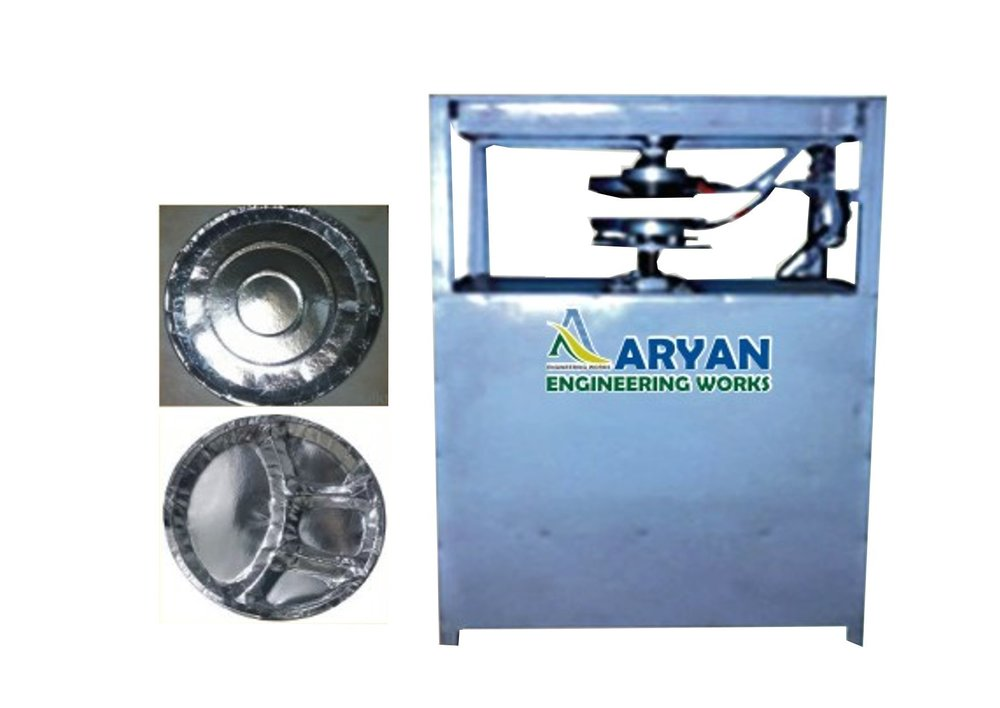 Tiffin Plate Semi Automatic Single Die Machine