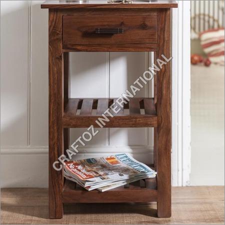 Sheesham Wood Corner Table