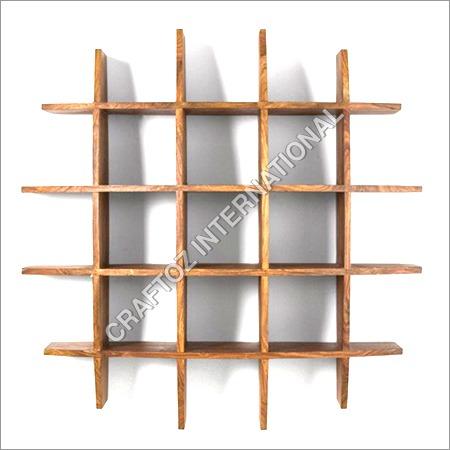 Sheesham Wood Wall Shelf