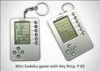 Mini Sudoku Game with Key Ring