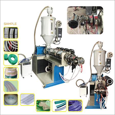 TPR thermoplastic braided hose pipe plant