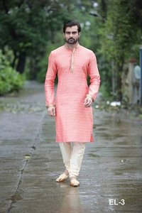 Party Wear Mens Casual Kurta