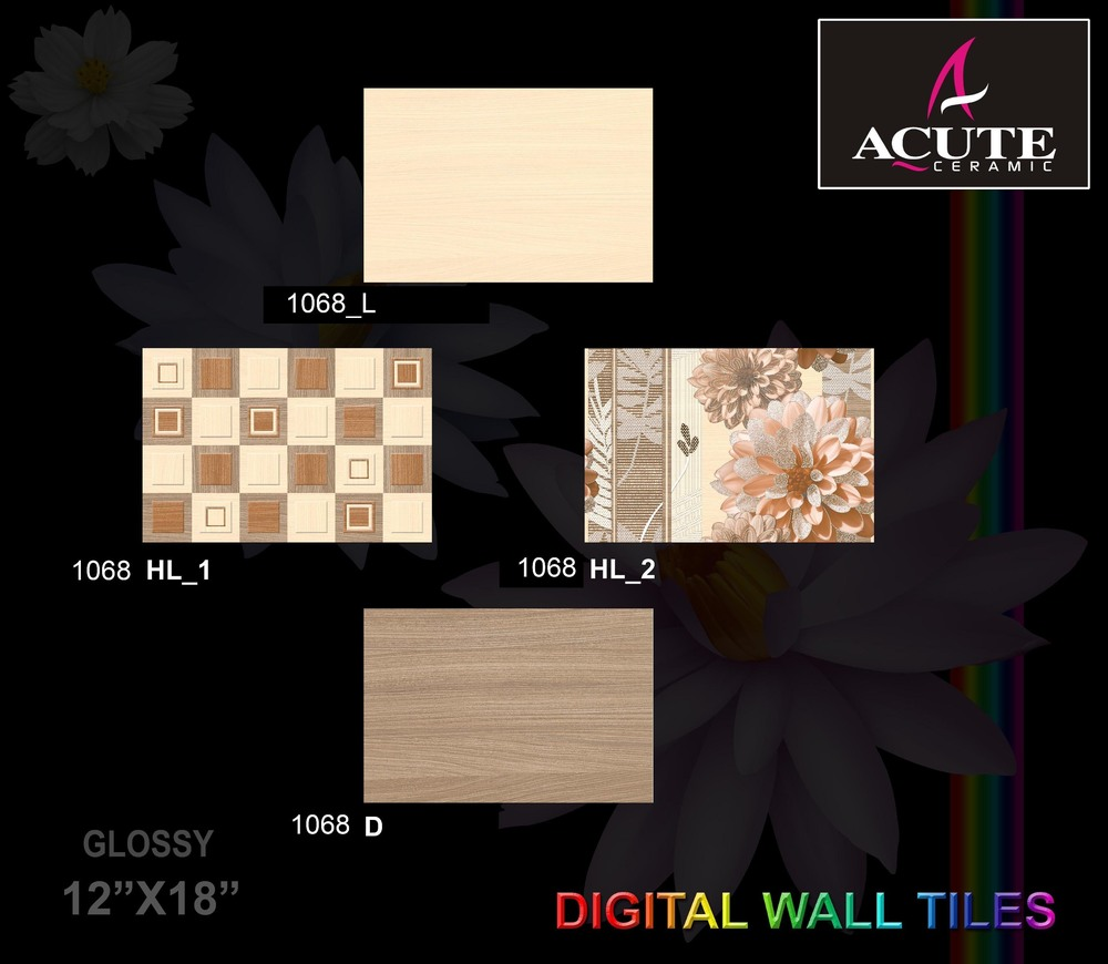 Light Ceramic Wall Tiles
