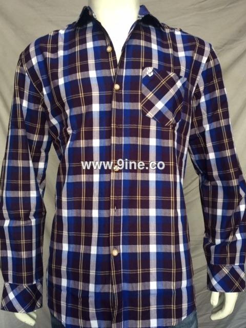 9INE CHECK SHIRTS - 75/2