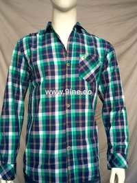 QUALITY MADE BRANDED CHECKS SHIRT - 75/3
