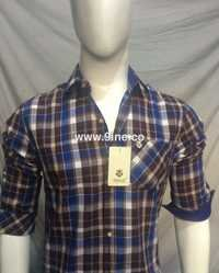 9INE POPULAR CHECK SHIRTS - 81/3