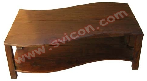 WOODEN COFFEE TABLE 2 PART S DESIGN