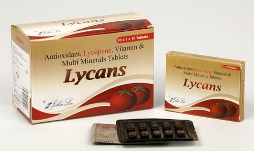 Lycopene + Multivitamin + Multimineral Tablets