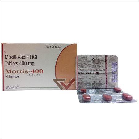 Moxifloxacin 400mg. Tab.