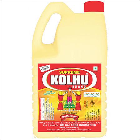 Mustard Oil Jar