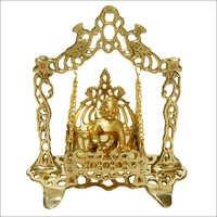 Brass Krishna Swing