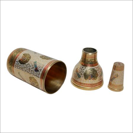 Brass Bottle Holders