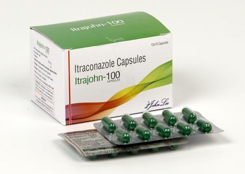 Itraconazole 100 mg Capsules