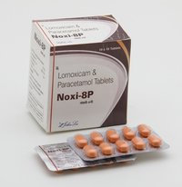 Lornoxicam 8mg + Paracetamol 325mg film coated tablets