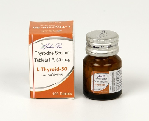Thyroxine Sodium 50mg Tablet