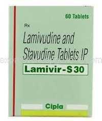 Lamivudine / stavudine Tab