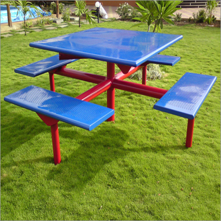 12  Pedestal Picnic Table
