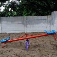 Iron Playground Seesaw