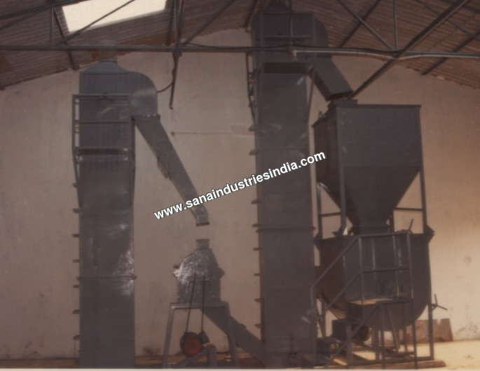 Poultry & Cattle Feed Grinding Mixing Plant