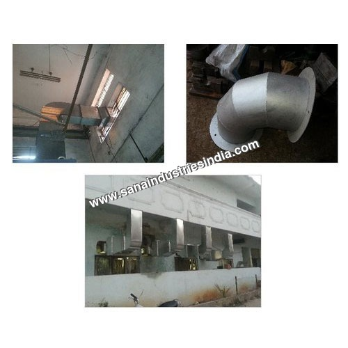 Industrial Kitchen Ducting