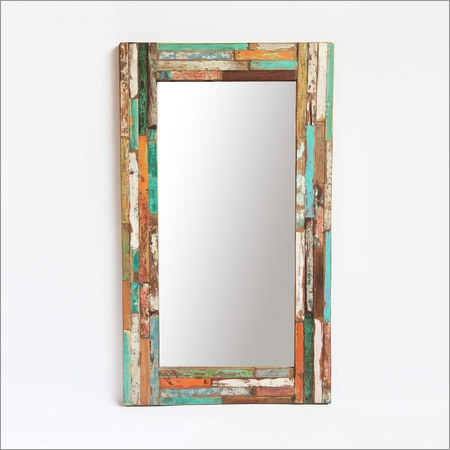 Boat Wood Mirror