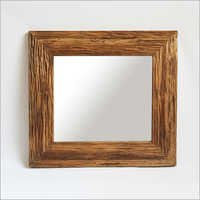 Deep Grain Wood Mirror