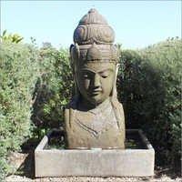 Stone Siwa Bust Fountain