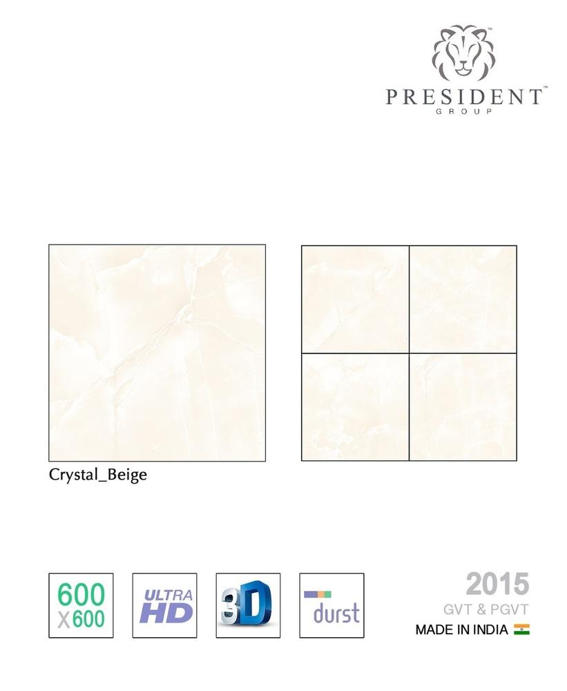 Crystal Beige Porcelain Tiles