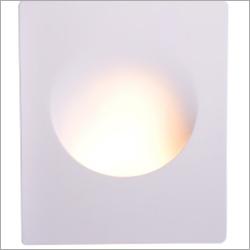 Wall Recessed Light Gypsum Round Big