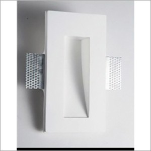 Wall Recessed Gypsum Rectangle Brick